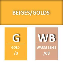 COLOR XG PRO - BEIGES/GOLDS